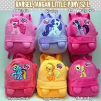 harga Tas Ransel Anak - Ransel Tangan Boneka Karakter Little Pony sz L Tokopedia.com