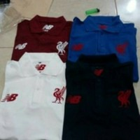 Polo shirt/baju kerah/kaos polo bola Liverpool