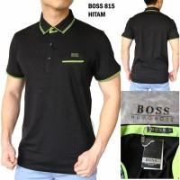 Polo Shirt Pria Hugo Boss 815 GRADE ORIGINAL (Kaos Cowok Import Murah)