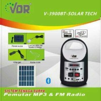 VDR V-3900BT Solar Tech