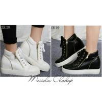 harga Sepatu Sneakers Wanita Wedges Hak Dalam Tokopedia.com
