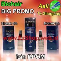 Paket 2 Bio Hair Solution Gratis Shampo Asli Ez Shop Tonic Biohairs