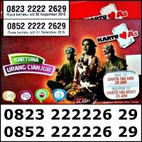 Nomor Cantik Kartu As 4G Couple Bahan Sakti 082322222629&085222222629