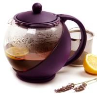 Harga teapot 1250 ml teko kaca ceret tempat teh saringan stainless tea | antitipu.com