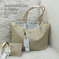 TAS LACOSTE TOTE CLASSIC WATER SET DOMPET