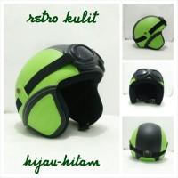 Harga Helm Retro Bogo Kulit Travelbon.com