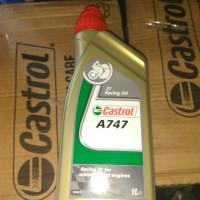 Oli Samping Racing Castrol A747 Original kemasan 1Liter