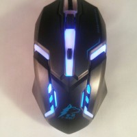 MOUSE GAMING LED T-WOLF V1 (7 LAMPU) / MOUSE GAMING TWOLF MURAH