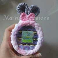 Jual Fluffy Bunny : Tamagotchi case  id idl p's mix 4u and 4u+ Murah
