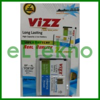 Baterai Vizz Nokia BP-4L BP4L N97 E61 E71 E72 Batre Double Power Dobel