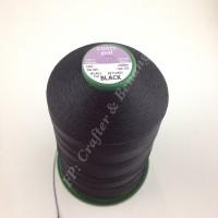 Benang Jahit COATS GRAL M20 BLACK (Lubricated Polyester Multifilament)