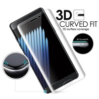 Tempered Glass Anti Gores Full Curve Screen Samsung Galaxy Note 7/Edge
