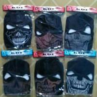 Masker Ninja Motif Tengkorak Murah