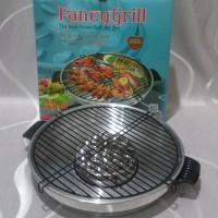 MASPION ALUMUNIUM FANCY GRILL 33 cm / Pemanggang BBQ