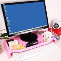 harga 5099 Desktop Storage Meja Laptop / Rak Komputer Plastik Tokopedia.com
