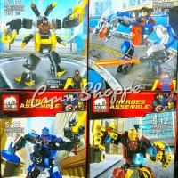 Lego Elephant jx 60002 A B C D 1 set = 4 pcs
