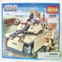 Lego COGO - Army Action Tank 3333