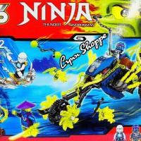 Lego ninja SY 386 REVENGE OF BLACK RIDER 331 pcs