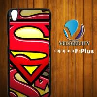 Superman Logo Z3662 OPPO F1 / OPPO F1 PLUS Case (Cover HP, Hardcase)