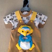 harga Baju kodok bayi cowo laki pororo boneka 3D 2pcs lucu murah bagus Tokopedia.com