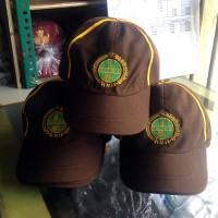 Jual Topi Seragam Pramuka Siaga Strip Kuning Murah