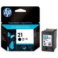 Tinta Hp 21 Black C9351aa Original