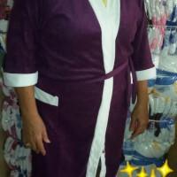 Jual [GROSIR] -Kimono handuk Jumbo polos Murah