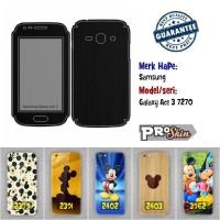 Garskin hp Samsung Galaxy Ace 3 7270 harga murah bisa pakai foto sendi