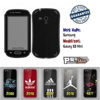 Garskin hp Samsung Galaxy S3 Mini branded murah motif kustom