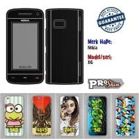 Garskin hp Nokia X6 branded murah bisa pakai foto sendiri