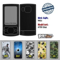 Garskin hp Nokia 6700 Slide harga grosir bisa pakai foto sendiri