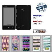 Garskin hp Nokia Lumia 720 harga murah bisa pakai foto sendiri