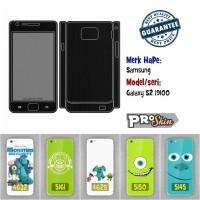 Garskin hp Samsung Galaxy S2 i9100 branded murah bisa pakai foto sendi