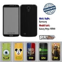 Garskin hp Samsung Galaxy Mega i9200 harga murah bisa pakai foto sendi
