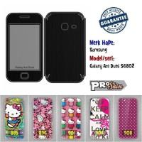 Garskin hp Samsung Galaxy Ace Duos S6802 branded murah bisa pakai foto
