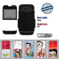 Garskin hp Nokia E71 harga murah bisa pakai foto sendiri