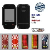 Garskin hp Nokia C2-03 harga reseller bisa pakai foto sendiri