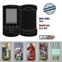 Garskin hp Nokia Asha 303 harga grosir bisa pakai foto sendiri