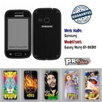 Garskin hp Samsung Galaxy Young GT-S6310 branded murah bisa pakai foto