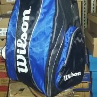 Jual tas ransel wilson..tenis/badminton Baru | Tas, celana Peralatan
