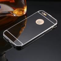 Casing HP Cover iPhone 5 5s 5c 6 6s 6 Plus Mirror Case Metal Premium