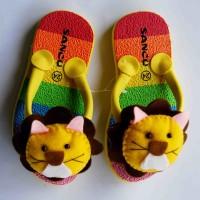 Jual sandal sancu boncu singa flat rate semua ukuran Murah