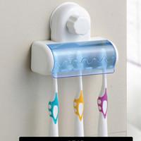 Blue Holder Sikat Gigi, ada tutupnya, lebih higienis, muat 5 sikat