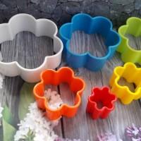 harga Cutter , Cetakan Kue Kering Plastik , Ring Cutter Bunga Tokopedia.com