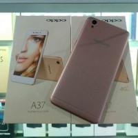 oppo a37 new 2/16gb new rosegold n gold resmi 1 tahun