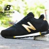 harga Sepatu Sport New Balance Classic Grade Ori Hitam Gold / Casual Pria Tokopedia.com