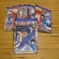 Komik Samurai X / Rurouni Kenshin - manga jepang