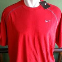 Kaos Big Size - Original Nike Dri Fit Swoosh Running T-shirt