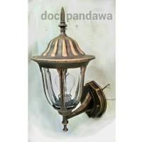 lampu dinding klasik antik teras outdoor taman