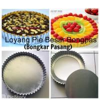 Loyang/ Cetakan Pie Buah Susu Lontar Pizza D24cm BONGPAS